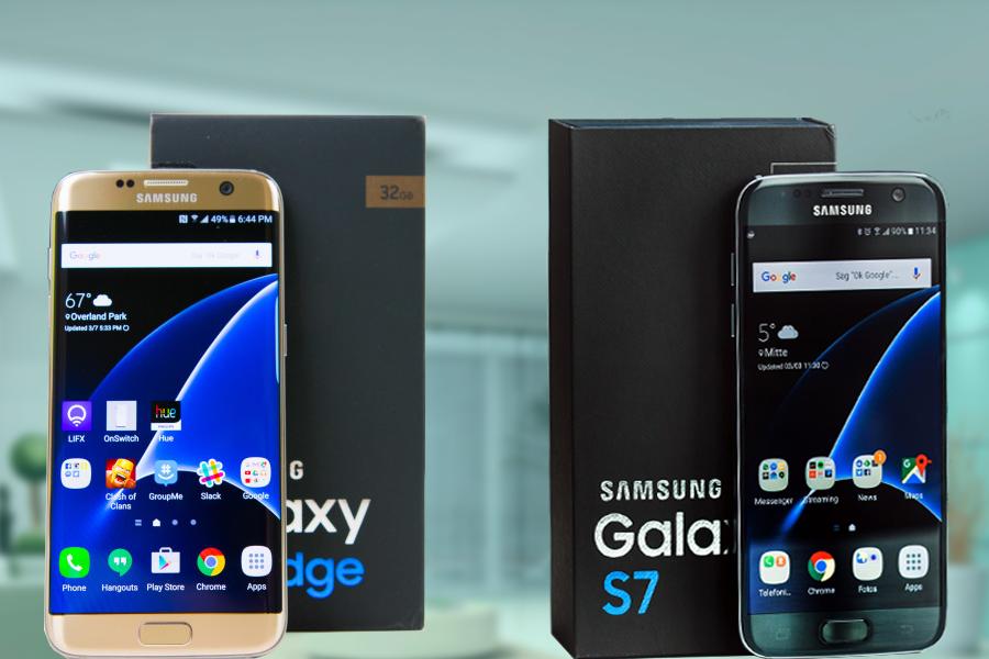 Samsung Galaxy S7 and Edge