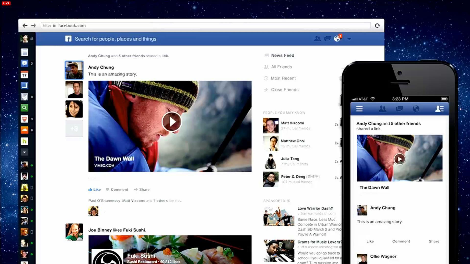 видеореклама фейсбук