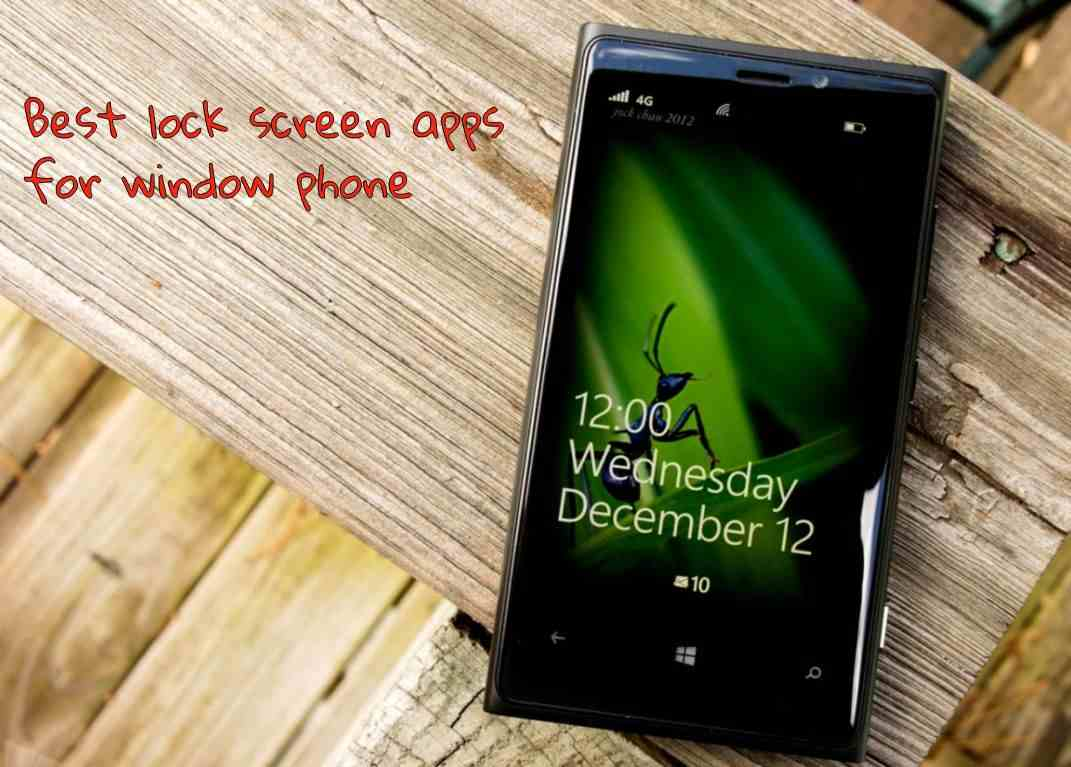 Best lock screen apps for windows phone - Topapps4u