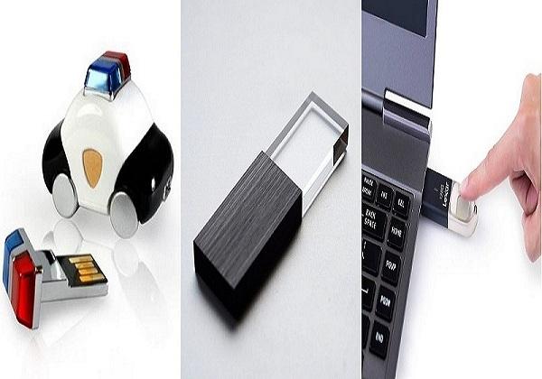 Stylish and Fingerprint USB Flash Drive